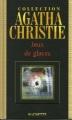 Couverture Jeux de glaces Editions Hachette (Agatha Christie) 2004