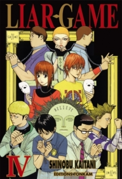 Couverture Liar game, tome 04