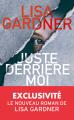 Couverture Juste derrière moi Editions France Loisirs 2019