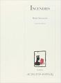 Couverture Incendies Editions Leméac / Actes Sud 2003