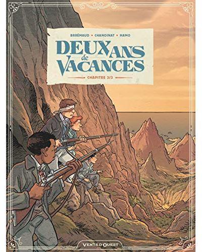 Couverture Deux ans de vacances (BD), tome 3