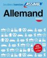 Couverture Allemand : débutants Editions Assimil 2016