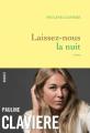 Couverture Laissez-nous la nuit  Editions Grasset 2020