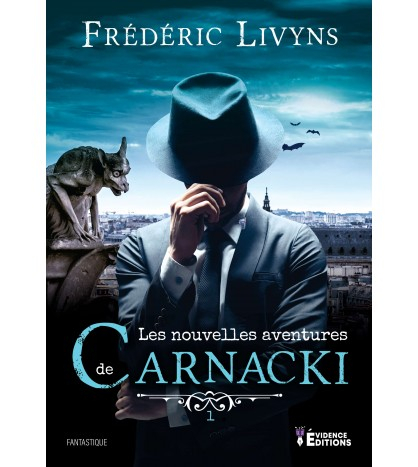 Couverture Les nouvelles aventures de Carnacki