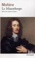 Couverture Le misanthrope / Le misanthrope ou l'atrabilaire amoureux Editions Folio  (Classique) 2012