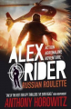 Couverture Alex Rider, tome 10 : Roulette russe Editions Walker Books 2015