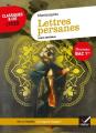 Couverture Lettres persanes Editions Hatier (Classiques & cie - Lycée) 2019