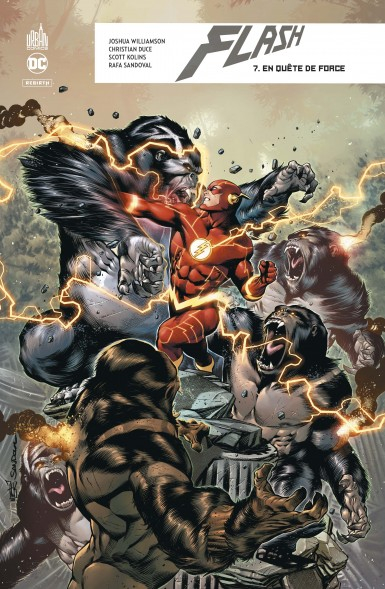 Couverture Flash Rebirth, tome 7 : En quête de force