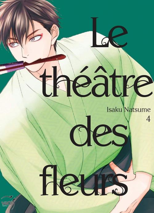 Couverture Le théâtre des fleurs, tome 4