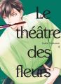 Couverture Le théâtre des fleurs, tome 4 Editions Taifu comics (Yaoï) 2019
