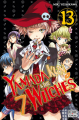 Couverture Yamada kun & the 7 witches, tome 13 Editions Delcourt-Tonkam (Shonen) 2017