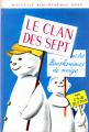 Couverture Le clan des sept et les bonhommes de neige Editions Hachette (Nouvelle bibliothèque rose) 1969