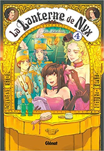 Couverture La Lanterne de Nyx, tome 4