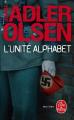 Couverture L'unité Alphabet Editions Le Livre de Poche (Thriller) 2020