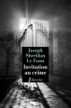 Couverture Invitation au crime Editions Libretto 2019