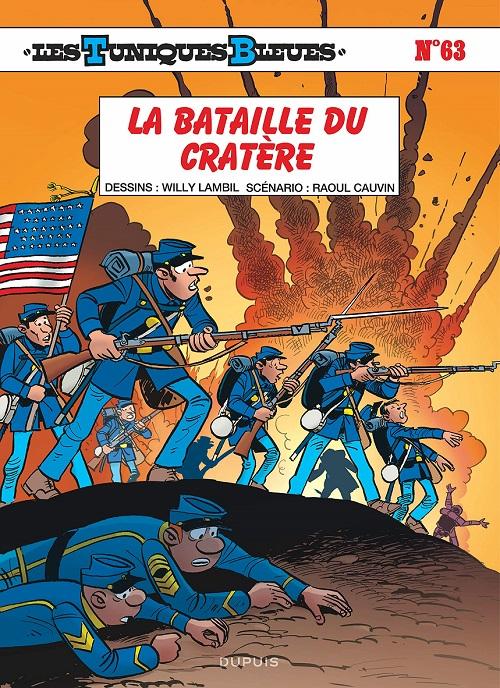 Couverture Les Tuniques Bleues, tome 63 : La bataille du Cratère