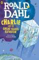 Couverture Charlie et le grand ascenseur de verre Editions Puffin Books (My Roald Dahl) 1972
