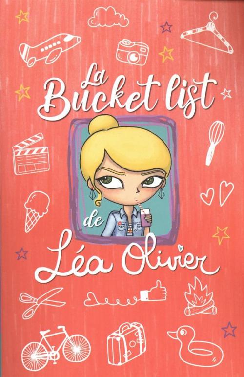 Couverture La Bucket list de Lea Olivier