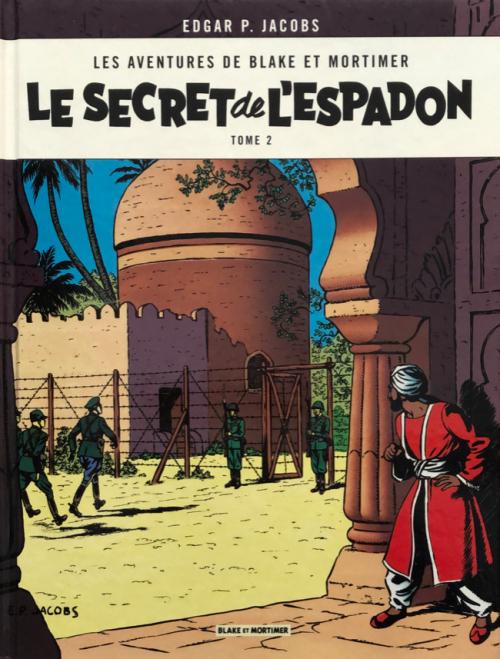 Couverture Blake et Mortimer, tome 02 : Le Secret de l'Espadon, partie 2 : L'Évasion  de Mortimer