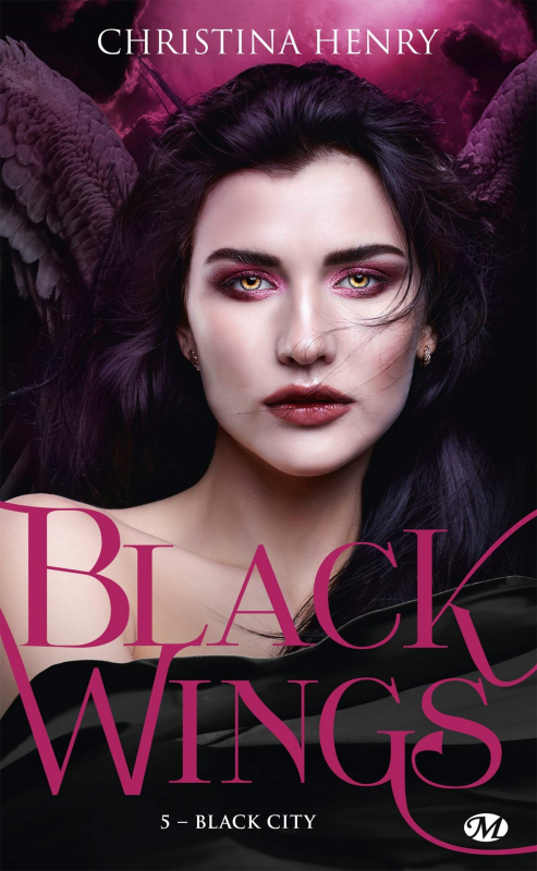 Couverture Black wings, tome 5 : Black city