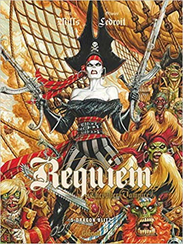 Couverture Requiem Chevalier Vampire, tome 05 : Dragon Blitz