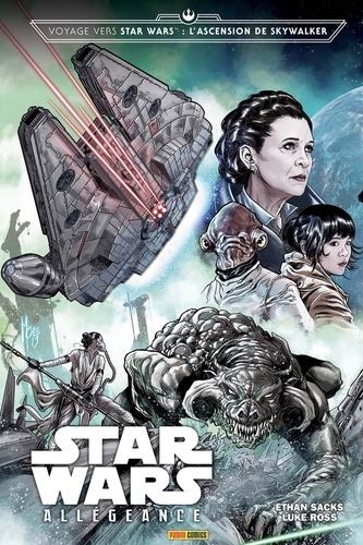 Couverture Voyage vers Star Wars : L'ascension de Skywalker : Allégeance