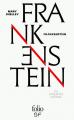 Couverture Frankenstein ou le Prométhée moderne / Frankenstein Editions Folio  (SF) 2019
