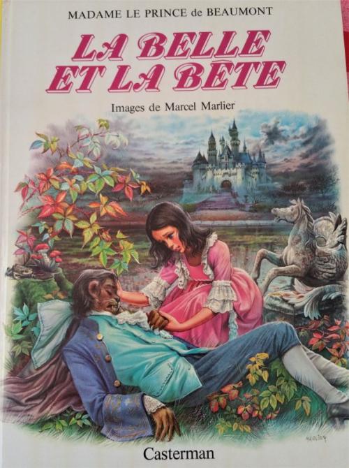Couverture La Belle et la Bête (Marlier)