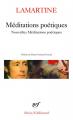 Couverture Méditations poétiques, Nouvelles méditations poétiques Editions Gallimard  (Poésie) 1981