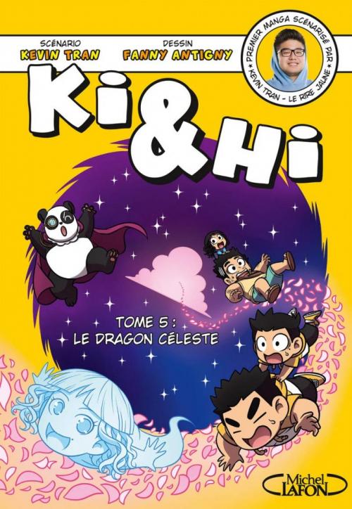 Couverture Ki & Hi, tome 5 : Le dragon céleste