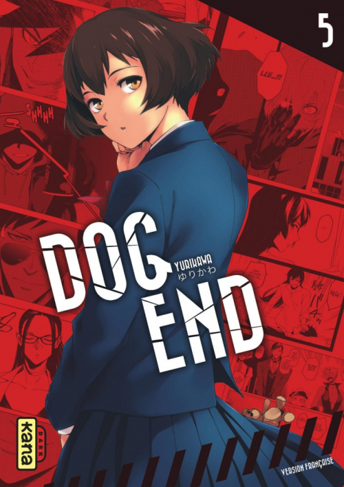 Couverture Dog End, tome 5 (Dog end, book 5)