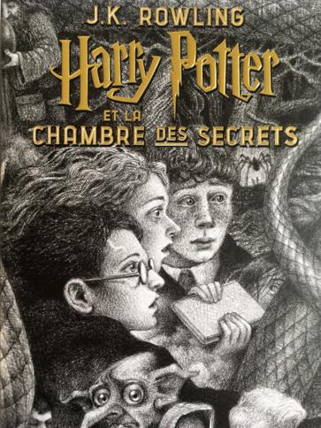 Couverture Harry Potter, tome 2 : Harry Potter et la chambre des secrets
