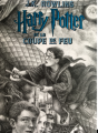 Couverture Harry Potter, tome 4 : Harry Potter et la coupe de feu Editions Gallimard  (Jeunesse) 2019