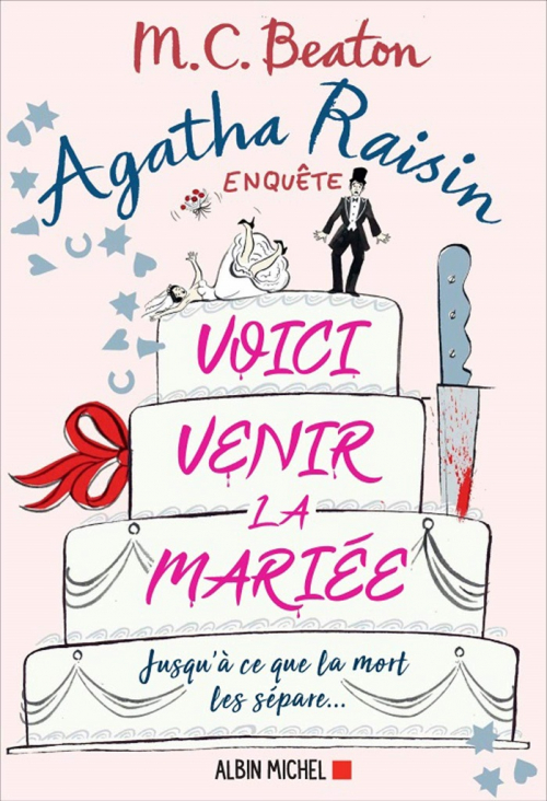 Couverture Agatha Raisin enquête, tome 20 : Voici venir la mariée