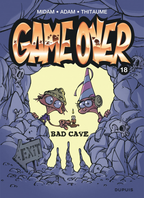 Couverture Game over, tome 18 : Bad cave