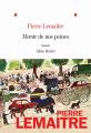 Couverture Miroir de nos peines Editions Albin Michel 2020