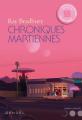 Couverture Chroniques martiennes Editions Denoël (Lunes d'encre) 2019