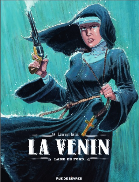 Couverture La Venin, tome 2 : Lame de fond