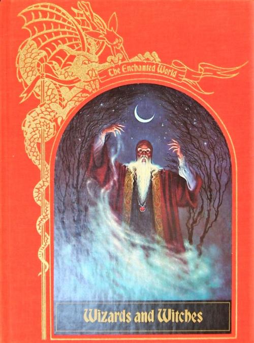 Couverture Les Mondes enchantés, Sorcières et Magiciens