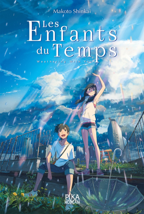Couverture Les Enfants du Temps - Weathering With You