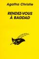 Couverture Rendez-vous à Bagdad Editions Librairie des  Champs-Elysées  (Le masque) 1998