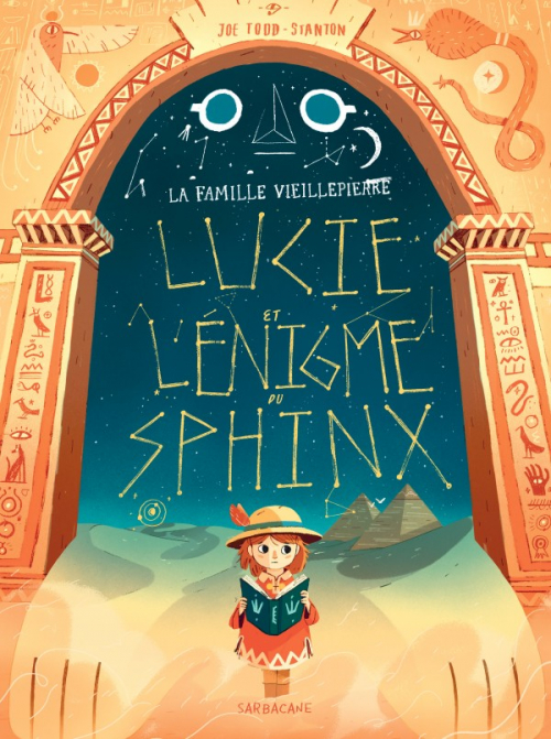 Couverture Marcy and the Riddle of the Sphinx