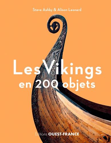 Couverture Les Vikings en 200 objets