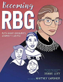Couverture Becoming RBG: Ruth Bader Ginsburg's Journey to Justice Editions Simon & Schuster 2019