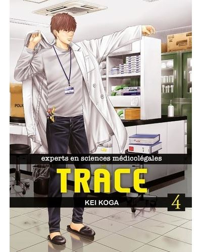 Couverture Trace, tome 4