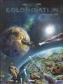 Couverture Colonisation, tome 1 : Les naufragés de l'espace Editions Glénat 2018