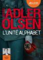 Couverture L'unité Alphabet Editions Audiolib 2018