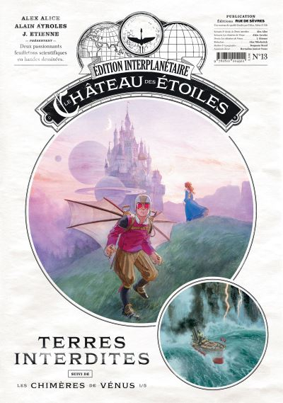 Couverture Le château des étoiles (revues), tome 13 : Terres interdites