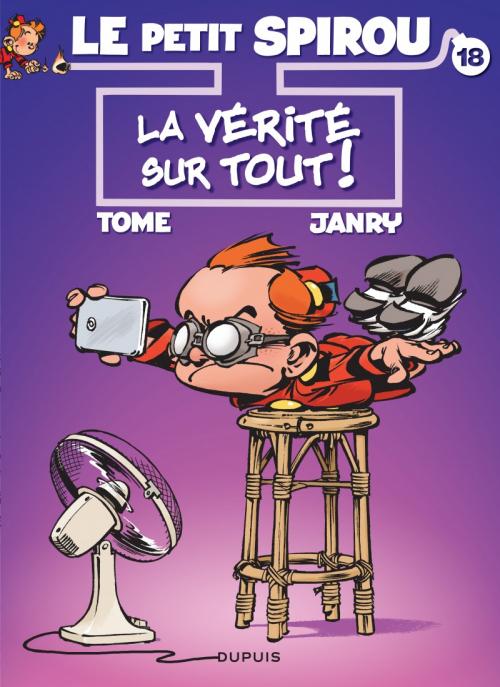 Couverture Le Petit Spirou, tome 18 : La vérité sur tout !