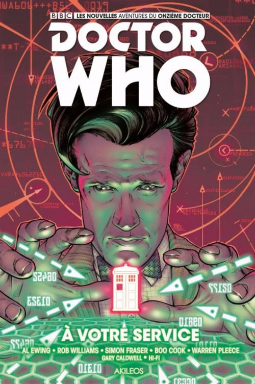 Couverture Doctor Who : Le onzième docteur, tome 2 : A votre service
